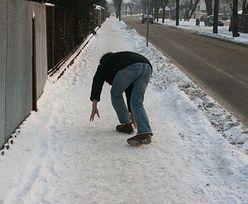 Upadłeś na lodzie? Pamiętaj, aby zrobić to w pierwszej kolejności