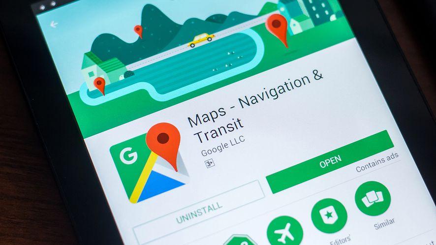 Kolejne nowości w Mapach Google. (depositphotos)