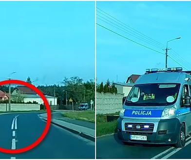 """Policja: """"Nieprawidłowo pan wyprzedzał"""". Kierowca: """"Mam kamerkę"""". Policja: """"Proszę jechać dalej"""""""