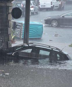 Potężna burza nad Sycylią. Miasto zalane, nie żyje mężczyzna