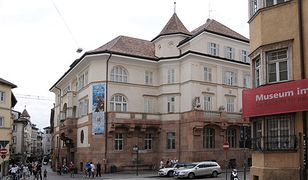 Muzeum Archeologiczne Południowego Tyrolu znajduje się w alpejskim mieście Bolzano