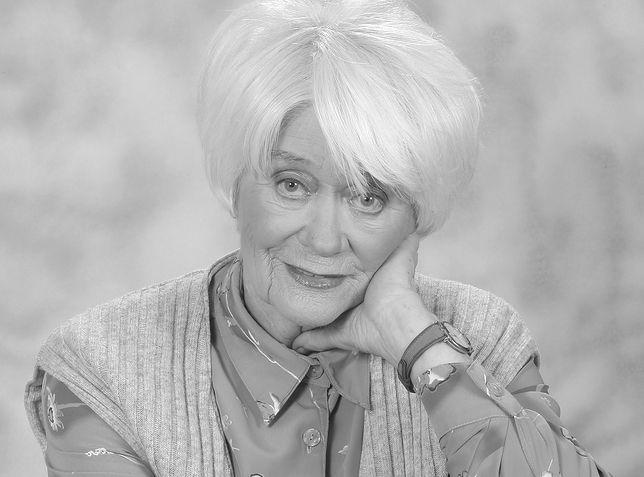 Alina Janowska o kilku lat zmagała się z chorobą Alzheimera