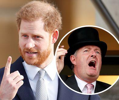 Dziennikarz Piers Morgan skrytykował oświadczenie księcia Harry'ego
