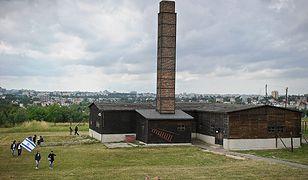 Muzeum na Majdanku, widok na krematorium