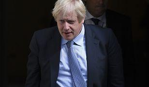 Premier Wielkiej Brytanii Boris Johnson.