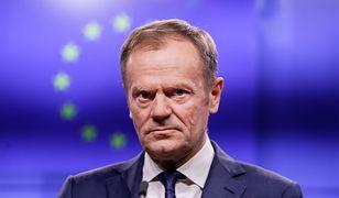 Szef Rady Europejskiej Donald Tusk