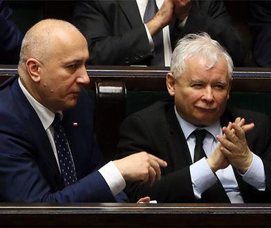 Jarosław Kaczyński i Joachim Brudziński