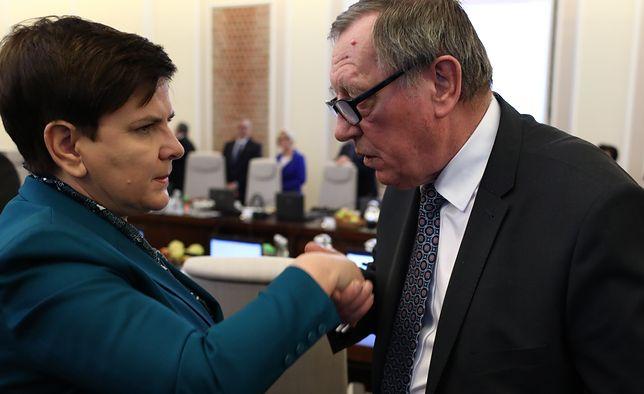 Beata Szydło podała się do dymisji