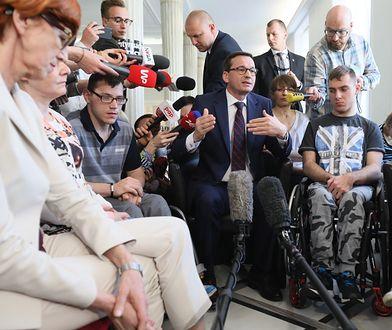 Premier Mateusz Morawiecki zapowiedział powołanie specjalnej daniny solidarnościowej na rzecz niepełnosprawnych