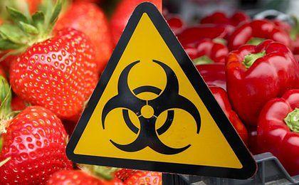 Pozostałości pestycydów w wielu europejskich produktach żywnościowych
