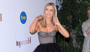 """Joanna Krupa współprowadziła finał """"Top Model"""""""
