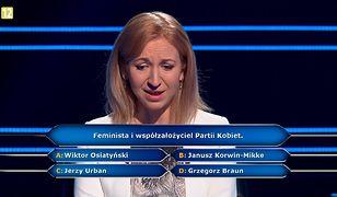 """W """"Milionerach"""" pytali o Partię Kobiet i feminizm. Korwin-Mikke by się uśmiał"""