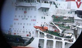 Zderzenie w kanale La Manche. Ucierpiały dwa statki towarowe