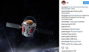 Kosmiczna misja KFC. Wystrzelą swoją najnowszą kanapkę na orbitę