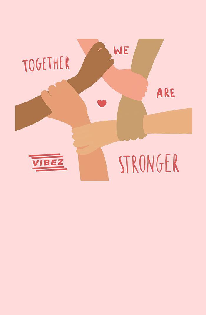 grafika - razem jesteśmy silniejsi