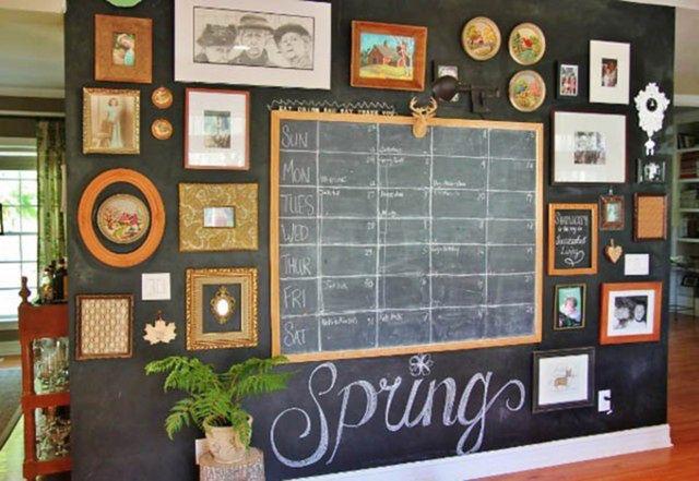 Farba tablicowa - niezwykły pomysł na ścianę