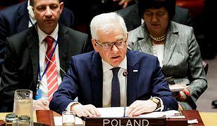 Zdaniem szefa MSZ Polska ma prawo do obrony swojego dobrego imienia