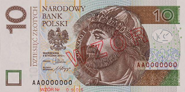 Banknot 10 zł - przód