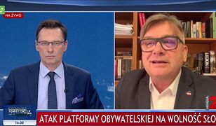 Gościem Krzysztofa Ziemca był m.in. poseł Artur Łącki