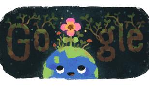 Równonoc wiosenna 2019. Równonoc wiosenna pierwszym dniem astronomicznej wiosny. Google Doodle na 20 marca
