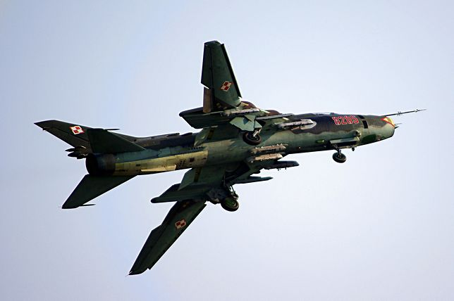 Su-22 to dziadek na polskim niebie. Myśliwiec ma już ponad 30 lat