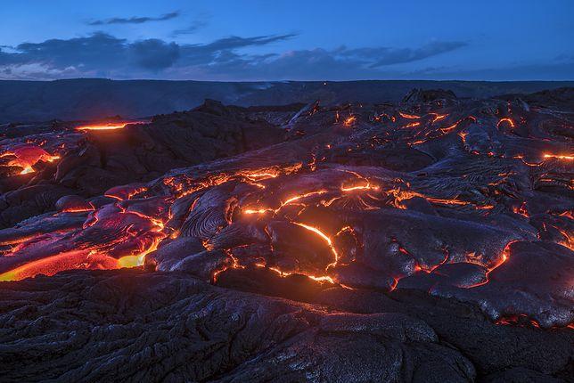 Jurajski świat wulkanów. Odkryty głęboko pod powierzchnią Ziemi