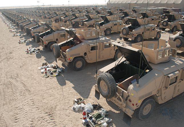 Tam, gdzie wojskowy sprzęt kończy życie