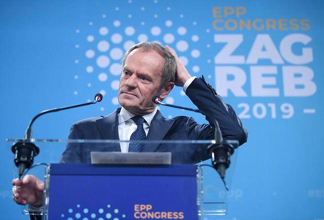 Donald Tusk był szefem Rady Europejskiej od 2014 roku