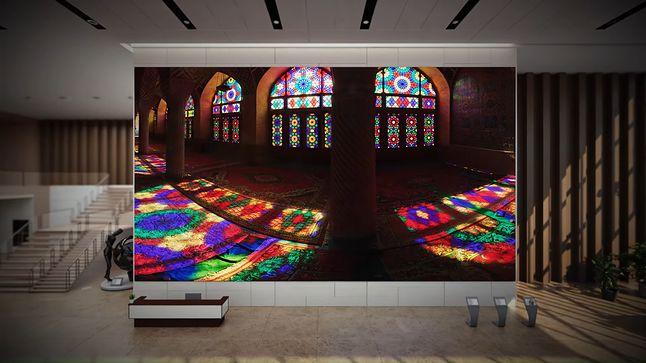 Technologia microLED zapewnia bardzo żywe kolory, z szerokim pokryciem palety barw, fot. Samsung