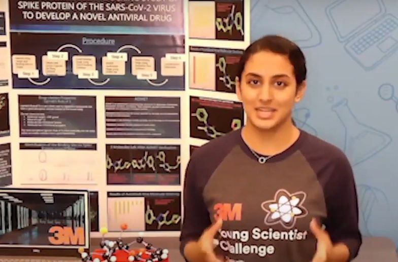 Niezwykłe odkrycie 14-latki z USA. Może pomóc w walce z COVID-19