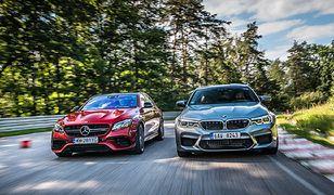 BMW M5 vs Mercedes-AMG E63 S: wielkie starcie supersedanów na Torze Kielce