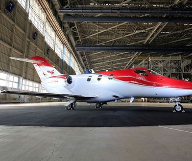 Samolot Hondy z certyfikatem