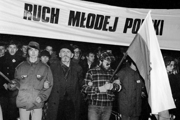 35. rocznica powstania Ruchu Młodej Polski - tak kiedyś wyglądała opozycja
