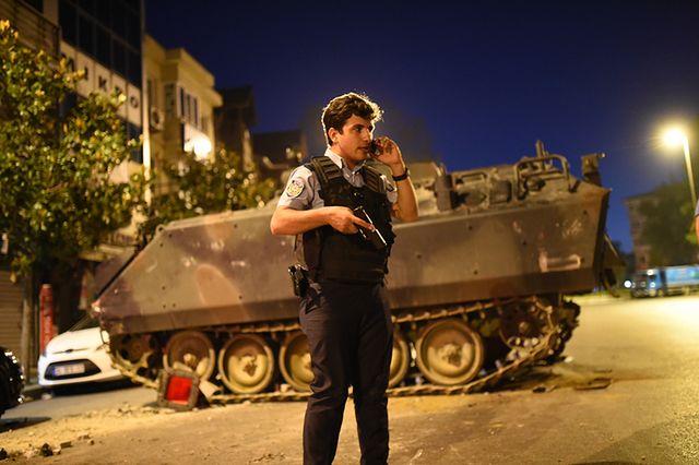 Dramatyczne wydarzenia w Turcji