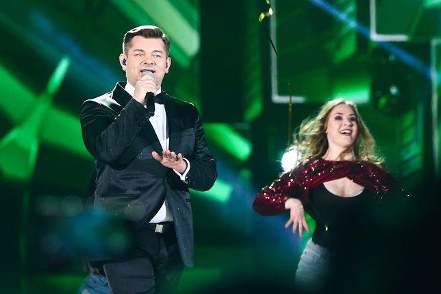 Zenon Martyniuk na koncercie sylwestrowym telewizji Polskiej