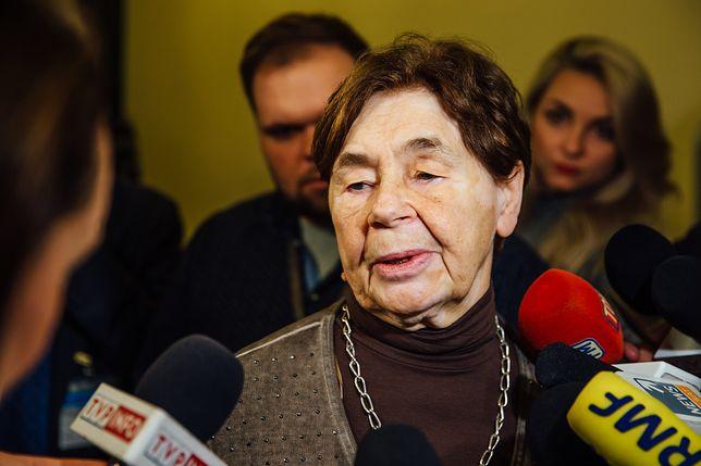 Zofia Romaszewska skrytykowała zachowanie niektórych sędziów