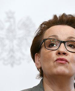 Anna Zalewska w Brukseli ucieka od edukacji. Zajmie się środowiskiem