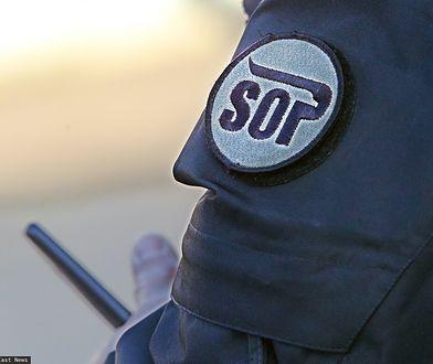 Funkcjonariusz SOP spowodował kolizję. Był pijany
