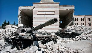 Syria. Ataku na wioskę miały dopuścić się wojska opozycji wspierane przez Stany Zjednoczone.