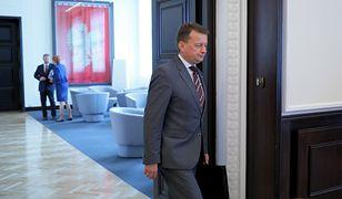 """Minister Obrony Narodowej Mariusz Błaszczak uważa, że w Sądzie Najwyższym jest """"nadzwyczajna kasta"""""""