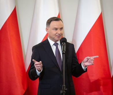 Prezydent Andrzej Duda przychylnie patrzy na projekt zmian w sądownictwie autorstwa PiS