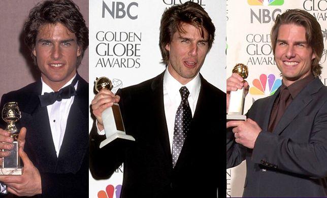 Trzy Złote Globy, które odesłał aktor.