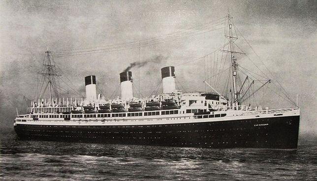 """Niemcy nakręcili swoją wersję """"Titanica"""" w czasie II wojny światowej"""