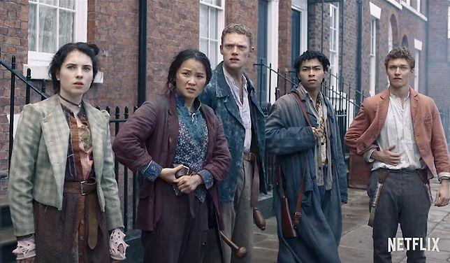 """Ferajna z Baker Street"" (Netflix) – oglądana przez 643 mln min."
