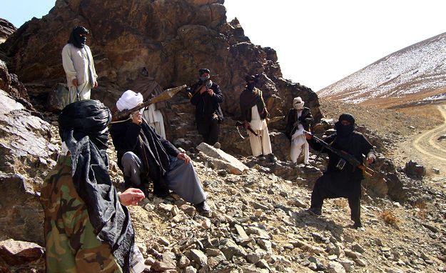 Zdjęcie archiwalne: afgańscy talibowie