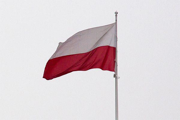 Czterech nastolatków odpowie za znieważenie flagi państwowej w Zabrzu