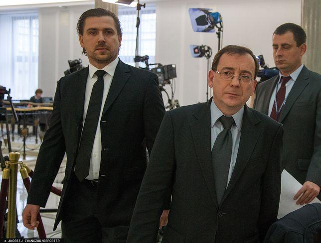 Tomasz Kaczmarek i Mariusz Kamiński