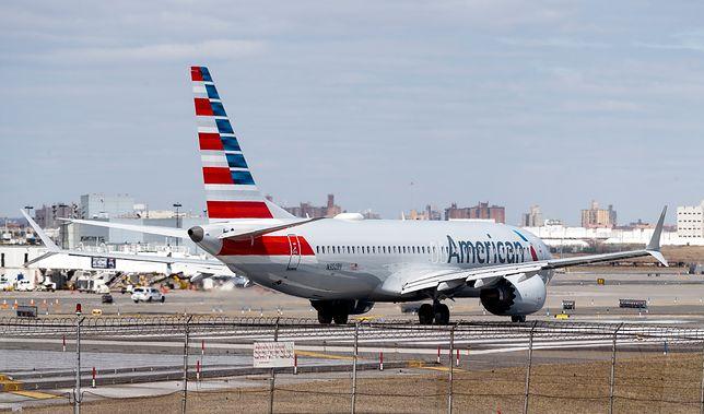 Boeing 737 MAX 8 amerykańskich linii lotniczych