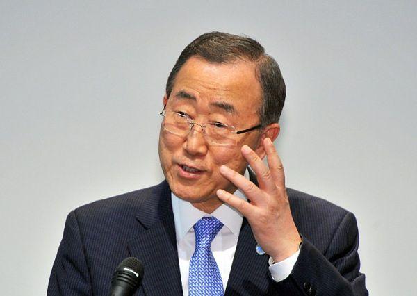Sekretarz generalny ONZ Ban Ki Mun