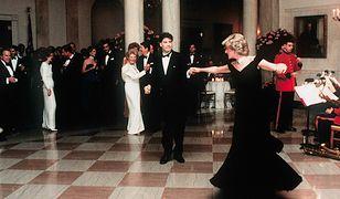 Księżna Diana wirowała na parkiecie z Johnem Travoltą